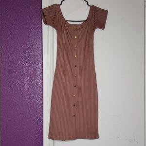 Mauve pink Dress